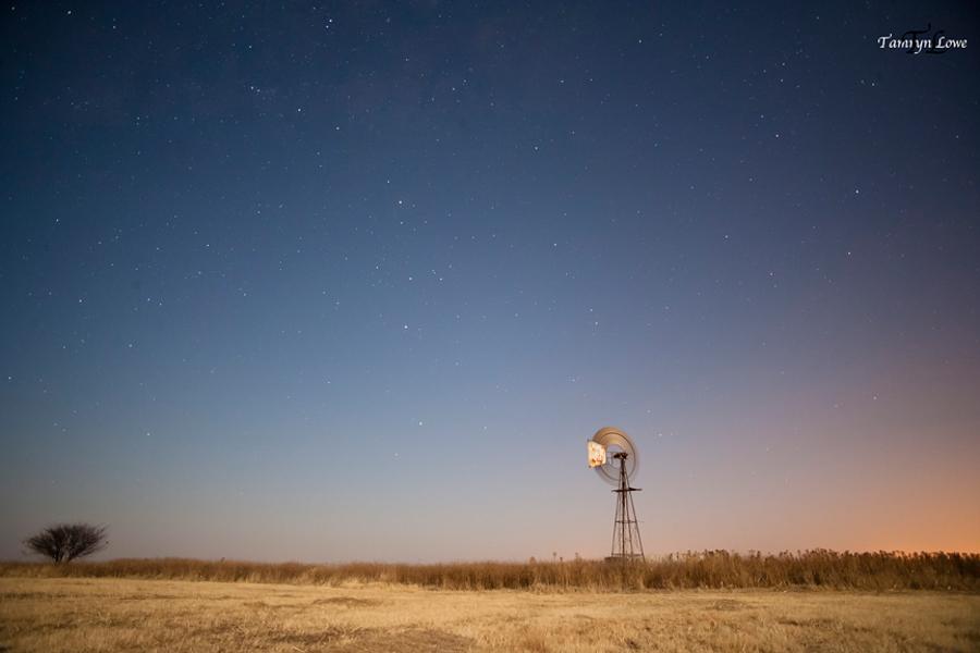 Stars … And a farm house