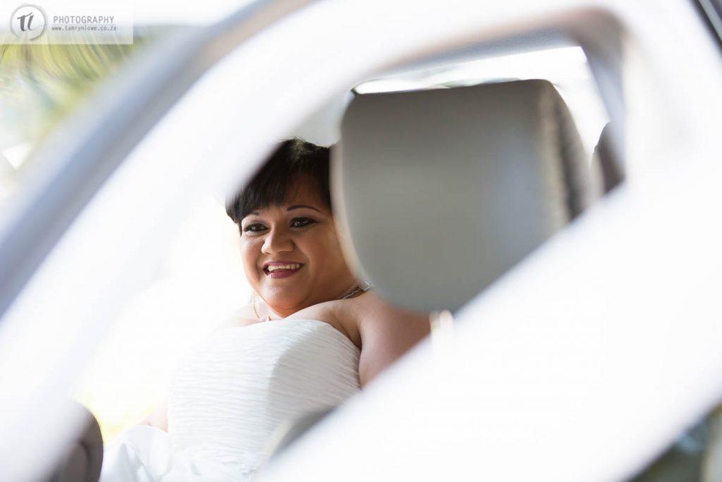 Bride before wedding