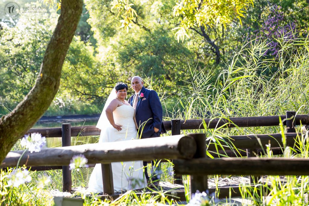 Bride & Groom at wedding
