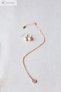 Brides necklace and earings