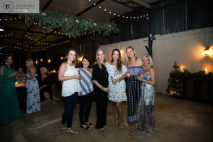 Group Photo of ladies at a party